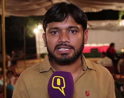 The Jawaharlal Nehru University students' union president Kanhaiya Kumar